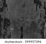 grunge wall texture | Shutterstock . vector #599957396