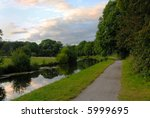 View Along The Tow Path Of The...