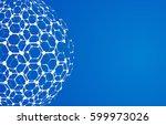 vector modern techology concept ... | Shutterstock .eps vector #599973026
