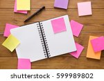 don't forget things. stationery ... | Shutterstock . vector #599989802