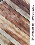 painted wooden plank background.... | Shutterstock . vector #599991212