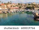 small harbor in byblos  lebanon | Shutterstock . vector #600019766