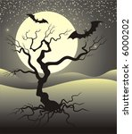 background with bats | Shutterstock .eps vector #6000202