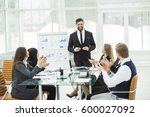 senior manager of the company... | Shutterstock . vector #600027092