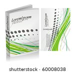 book cover design isolated over ... | Shutterstock .eps vector #60008038