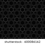 abstract repeat backdrop.... | Shutterstock .eps vector #600086162