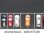 bad parking. improperly parked... | Shutterstock . vector #600147128
