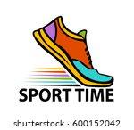 sport time motivational... | Shutterstock .eps vector #600152042