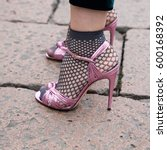 milan  italy   february 26 ... | Shutterstock . vector #600168392