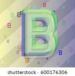 b alphabet design template