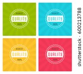sale banners or badges vector... | Shutterstock .eps vector #600213788