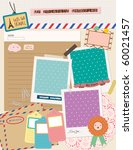 beautiful scrapbooking elements | Shutterstock .eps vector #60021457
