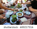 thai food | Shutterstock . vector #600217316