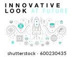 trendy innovation systems...   Shutterstock .eps vector #600230435