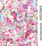Seamless Floral Wallpaper...