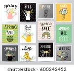 spring sale illustration | Shutterstock .eps vector #600243452