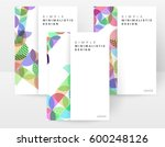 memphis geometric background... | Shutterstock .eps vector #600248126