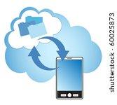 cloud computing concept.... | Shutterstock .eps vector #60025873