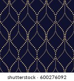 abstract geometric pattern by... | Shutterstock .eps vector #600276092