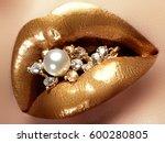 cosmetics and make up. closeup... | Shutterstock . vector #600280805