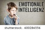 emotionale intelligenz  german... | Shutterstock . vector #600286556
