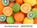 tropical fruits   Shutterstock . vector #60029018