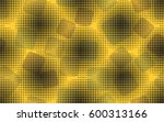 seamless pattern. rounded... | Shutterstock .eps vector #600313166