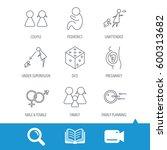 pregnancy  pediatrics and... | Shutterstock . vector #600313682