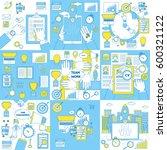 finances  education  marketing... | Shutterstock .eps vector #600321122