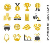 gold icon | Shutterstock .eps vector #600342245