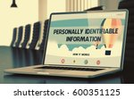 personally identifiable... | Shutterstock . vector #600351125