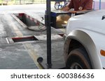 vehicle check up for... | Shutterstock . vector #600386636