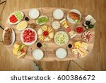 breakfast | Shutterstock . vector #600386672