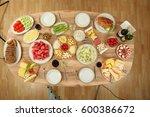 breakfast | Shutterstock . vector #600386672