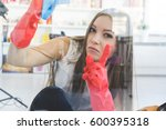 Woman Cleaning Office Idea...