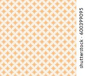 vintage tiling seamless pattern ... | Shutterstock .eps vector #600399095