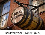 Wines And Liquors Barrel In...