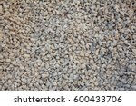 Close Up Gravel Wall Pattern