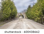 a freshly surfaced gravel road...   Shutterstock . vector #600438662