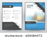 cover design vector template ... | Shutterstock .eps vector #600484472