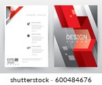 cover design vector template ... | Shutterstock .eps vector #600484676