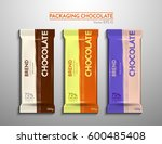 a bright  large package of... | Shutterstock .eps vector #600485408