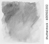 gray grunge watercolor... | Shutterstock . vector #600502202