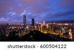 cityscape nightlife view of... | Shutterstock . vector #600504122