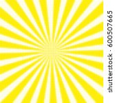 colorful retro rays comic...   Shutterstock . vector #600507665