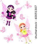 Two Cute Fairies   Blond And...