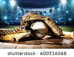 baseball and tools  | Shutterstock . vector #600516068