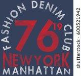 new york city  bronx grunge... | Shutterstock . vector #600521942