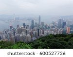 scenery of hong kong viewed... | Shutterstock . vector #600527726
