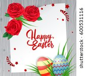 Happy Easter Lettering  Paper ...